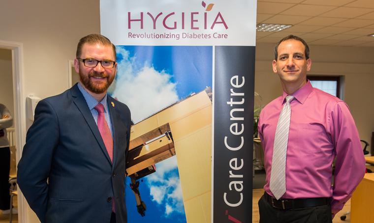 Hygieia's office in Belfast