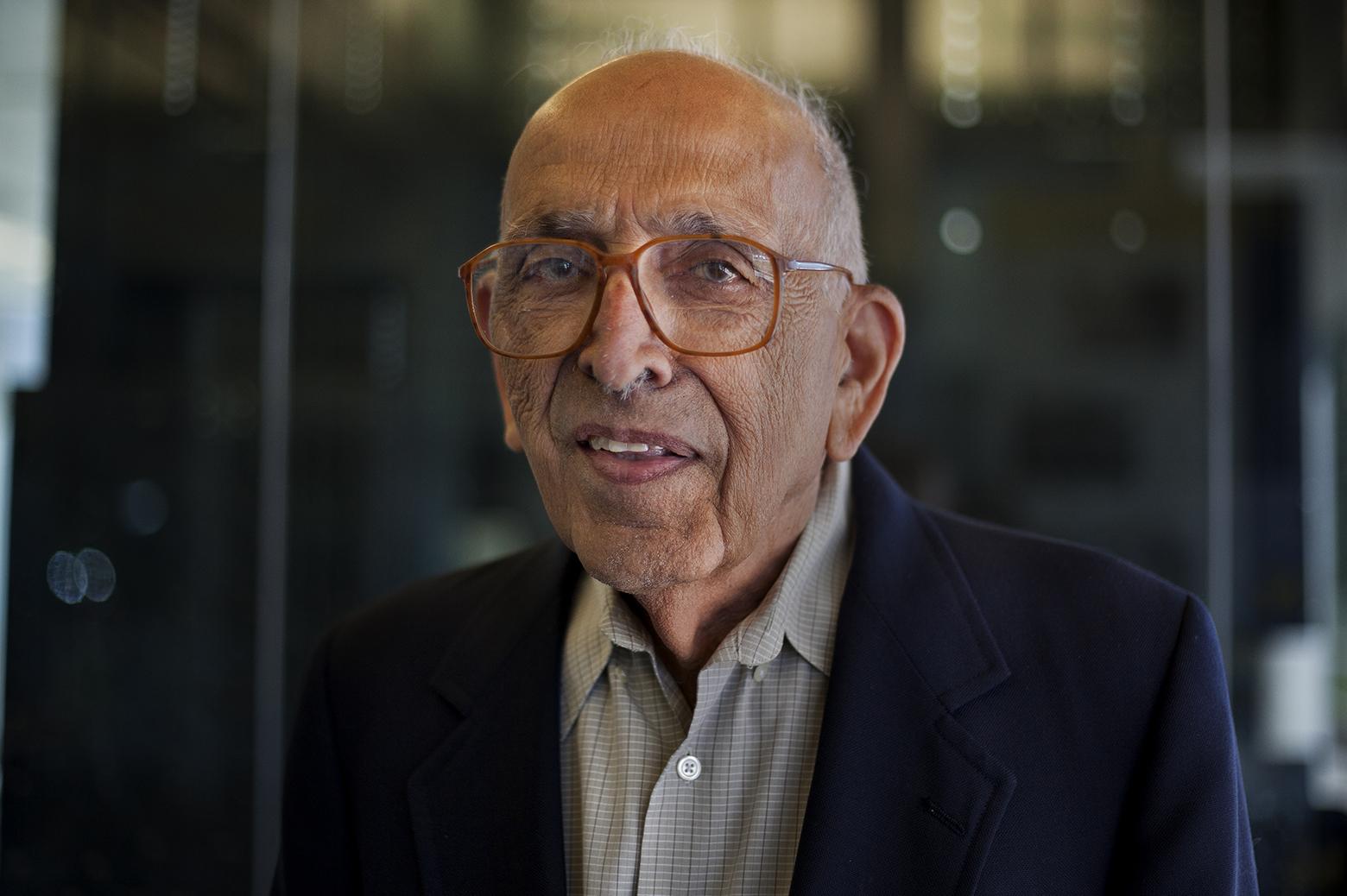 Prof. Emeritus Keki Irani