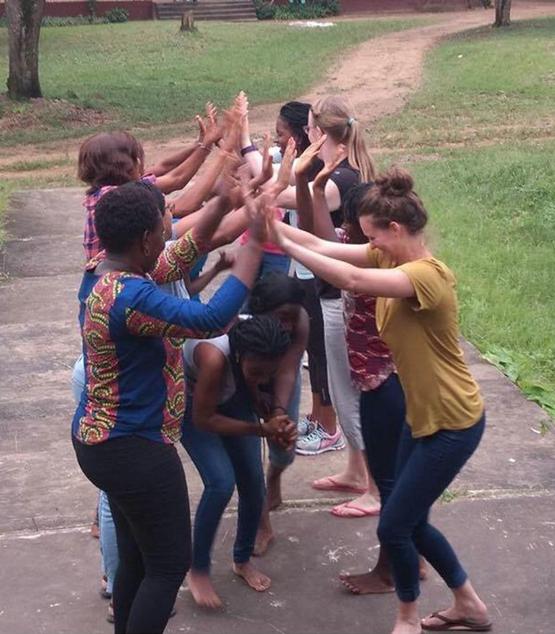 women at success camp