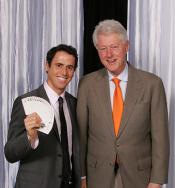 Pearlman with Bill Clinton