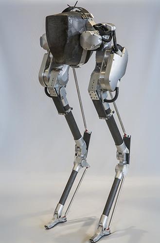 cassie, a walking robot