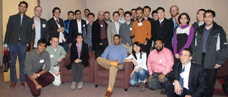 faculty, alumni, and students