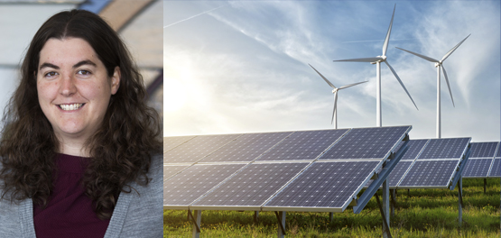 johanna mathieu and solar panels