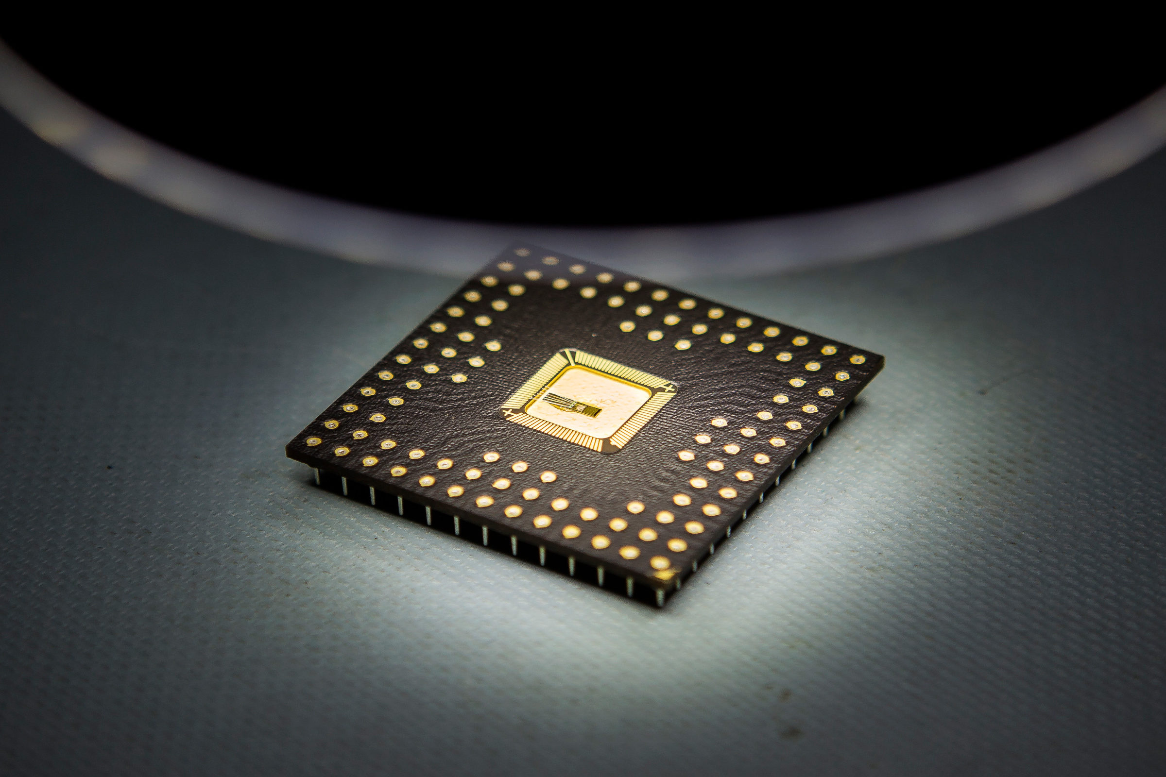 An earlier product of the Michigan Integrated Circuits Lab. Photo: Joseph Xu/Michigan Engineering