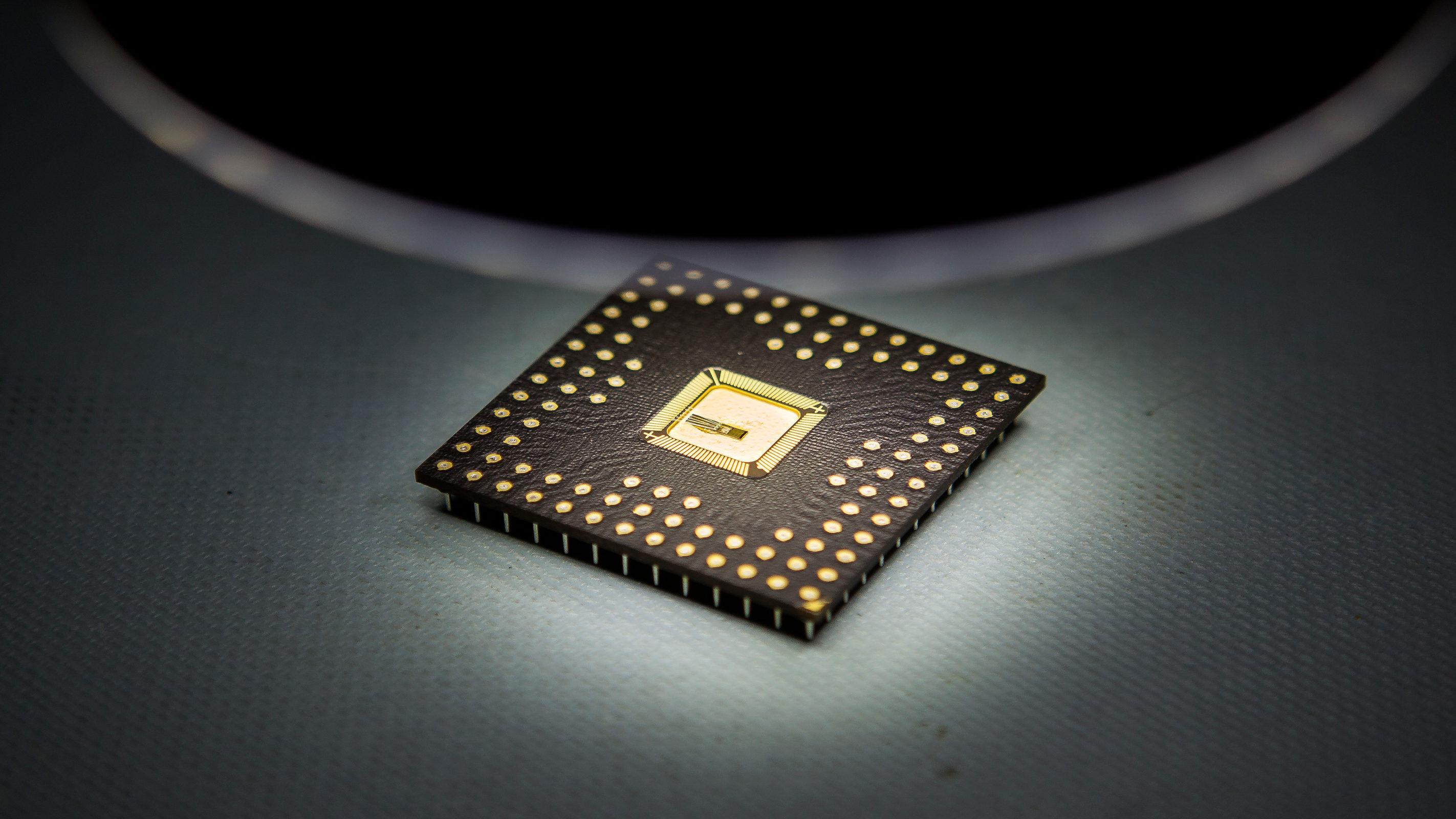 An earlier product of the Michigan Integrated Circuits Lab. Photo: Joseph Xu/Michigan Engineering