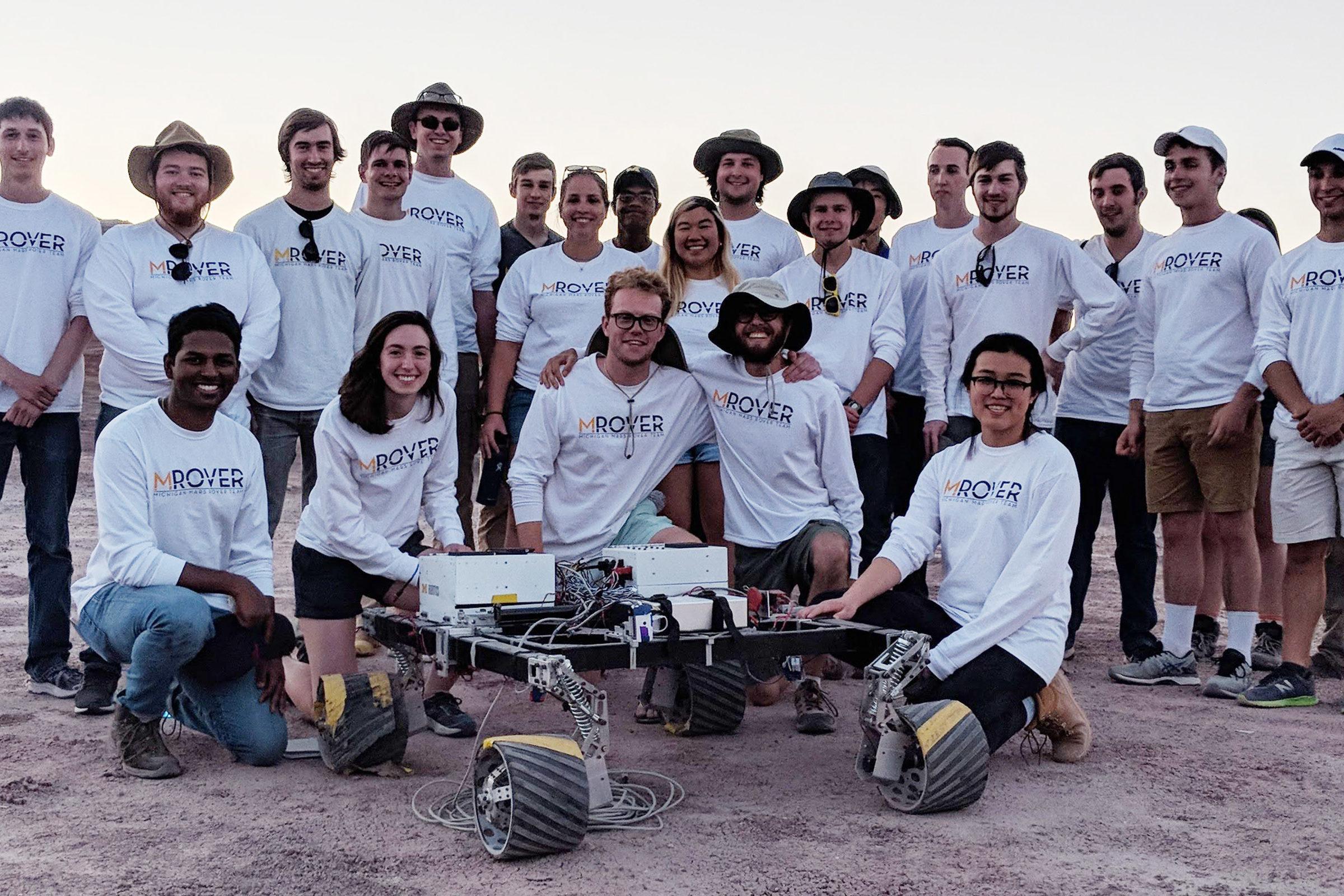 Mars Rover 2018 team