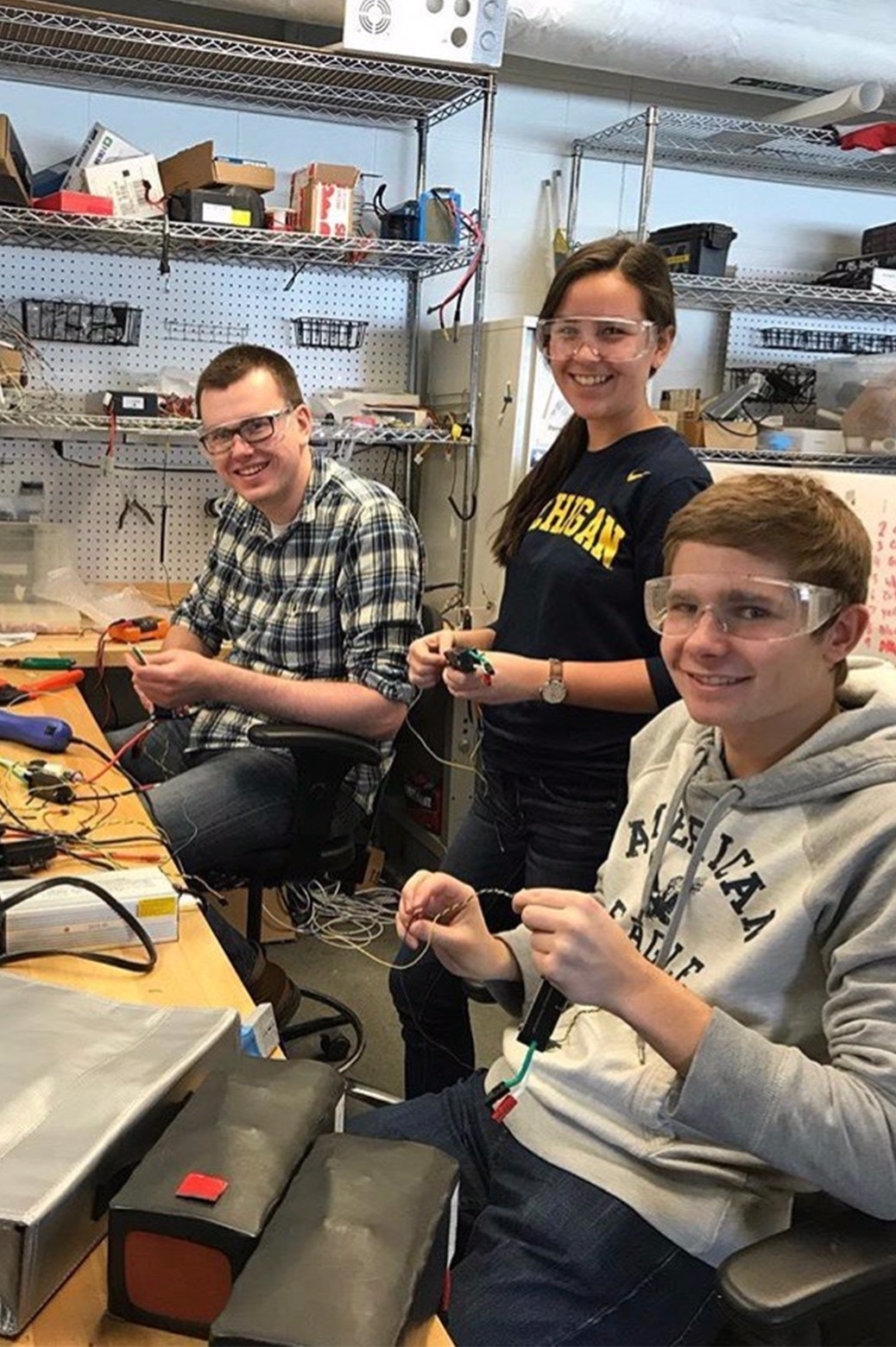 Mars Rover electrical team