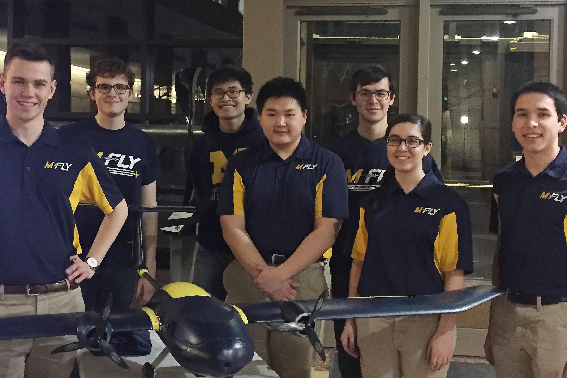 M-Fly 2018 team
