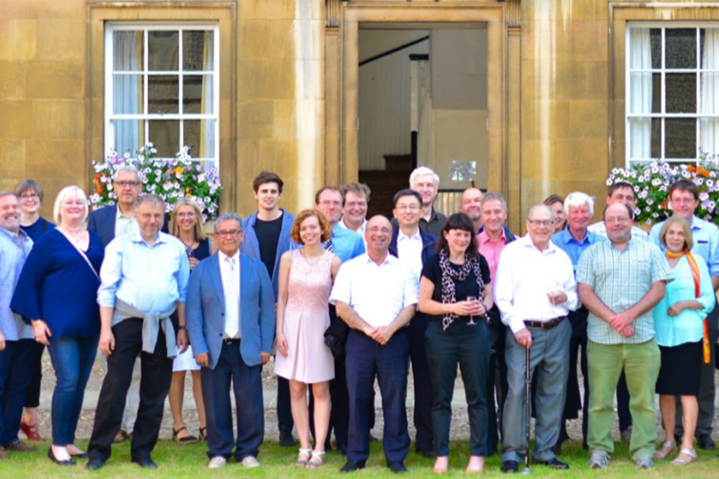 Professor Philip Roe celebrates his 80th birthday at University of Cambridge conference.