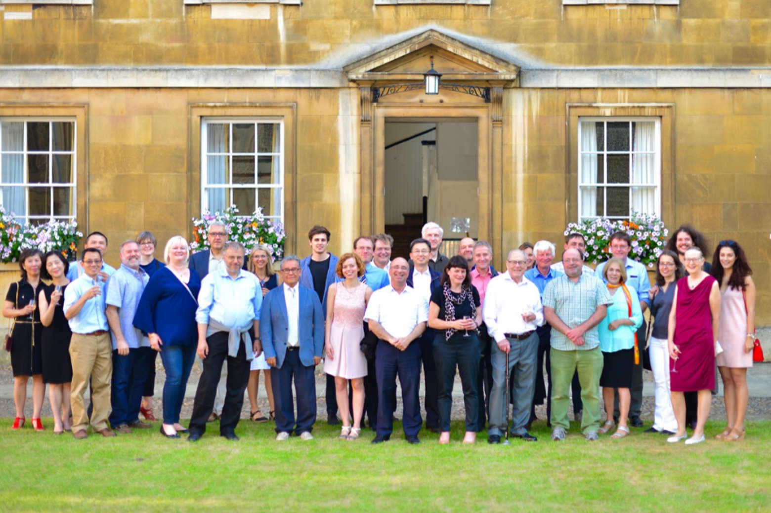 Professor Philip Roe celebrates 80th birthday at University of Cambridge conference.