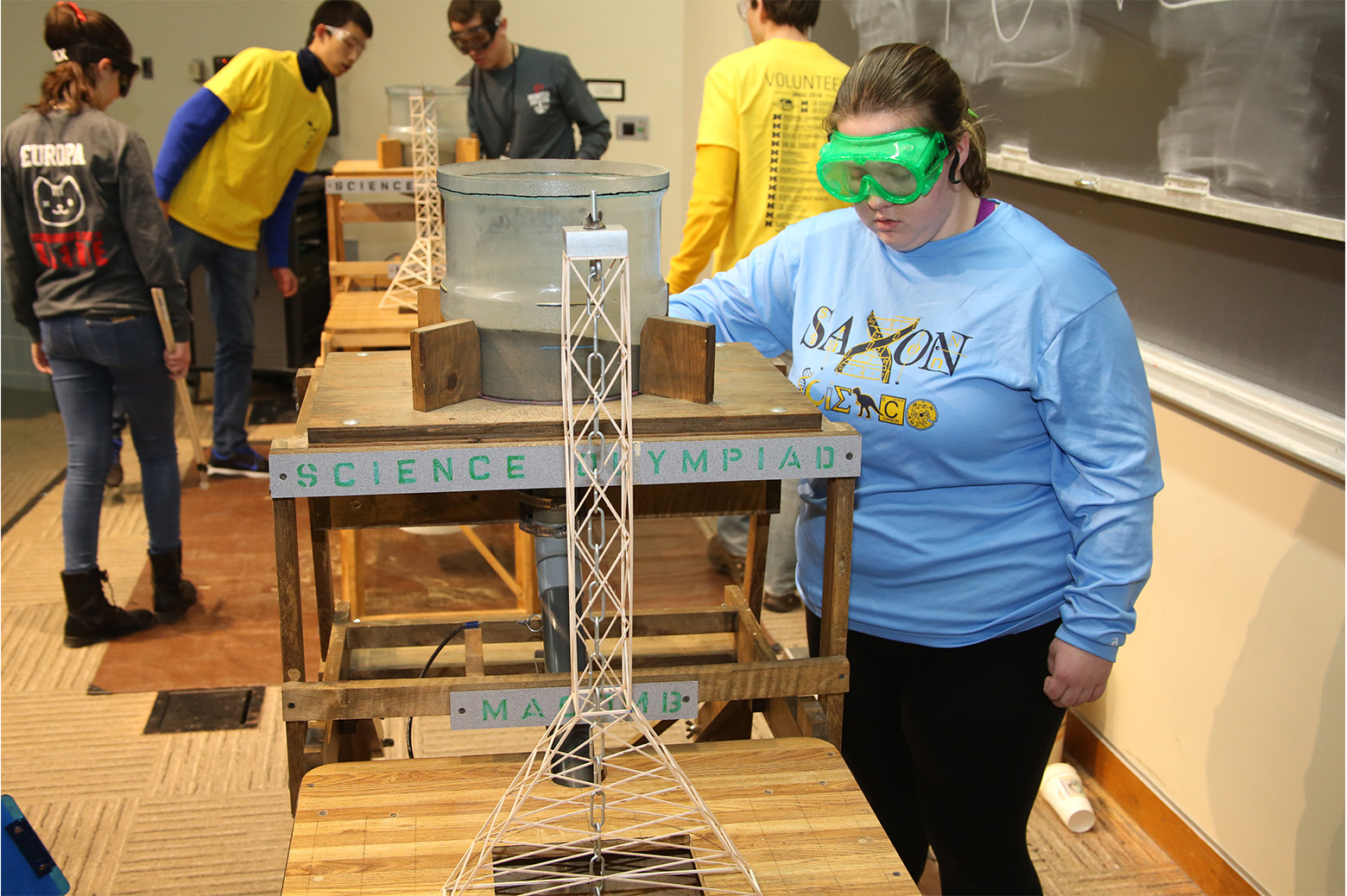 olympiad science students invitational sand tower michigan challenge