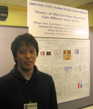 Mingoo Seok at ISSCC