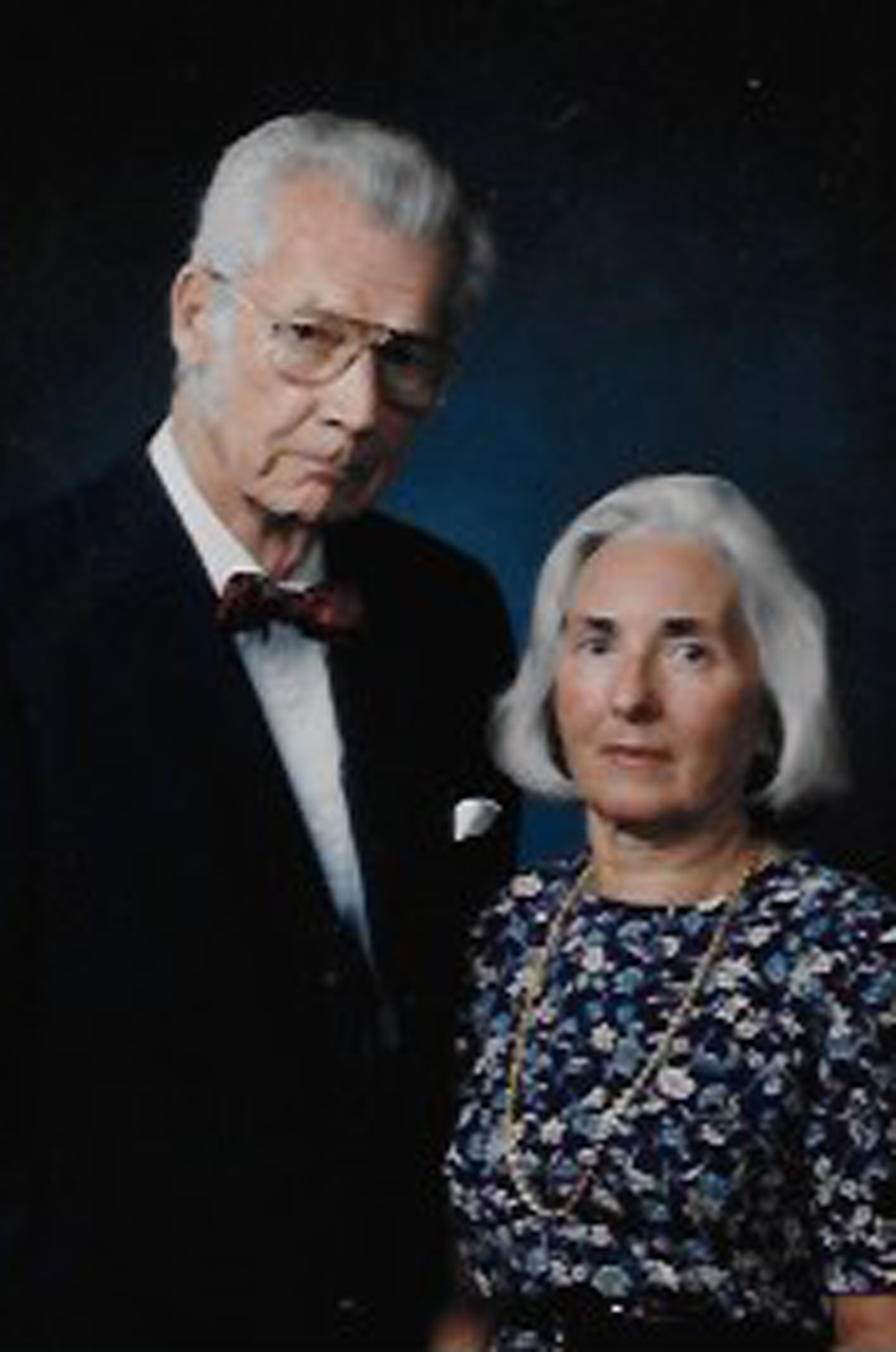 Marta Mrazovic-Whipple and her husband, the late Professor Emeritus Hoyt Whipple