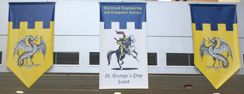 St. George's Day Banners