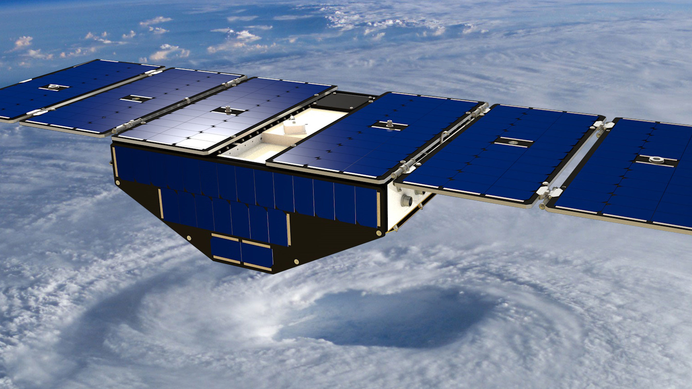 Hurricane-tracking CYGNSS satellite system gets NASA renewal as it expands its reach