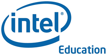 Intel education logo