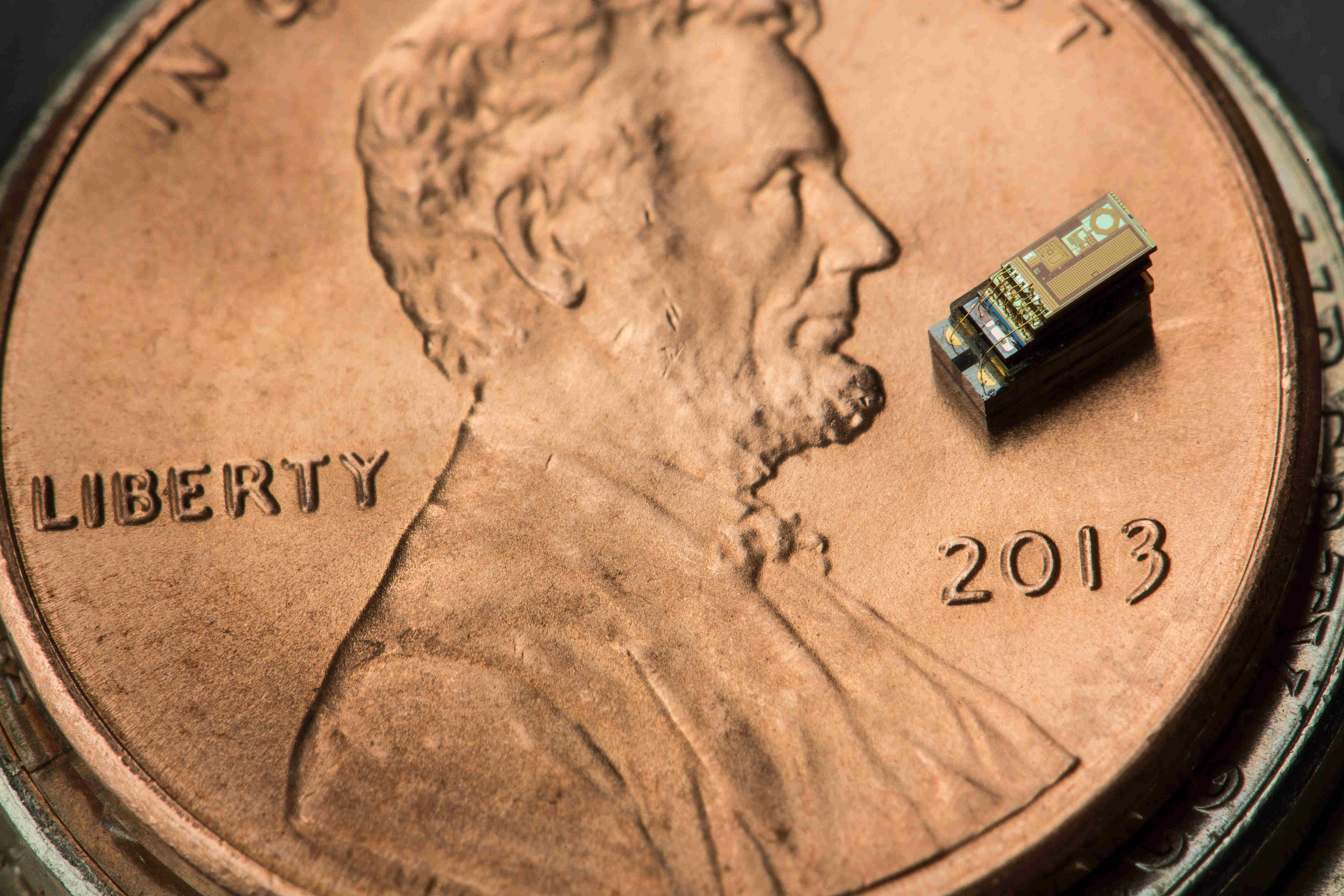 microcomputer on a penny