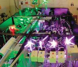 an optics lab