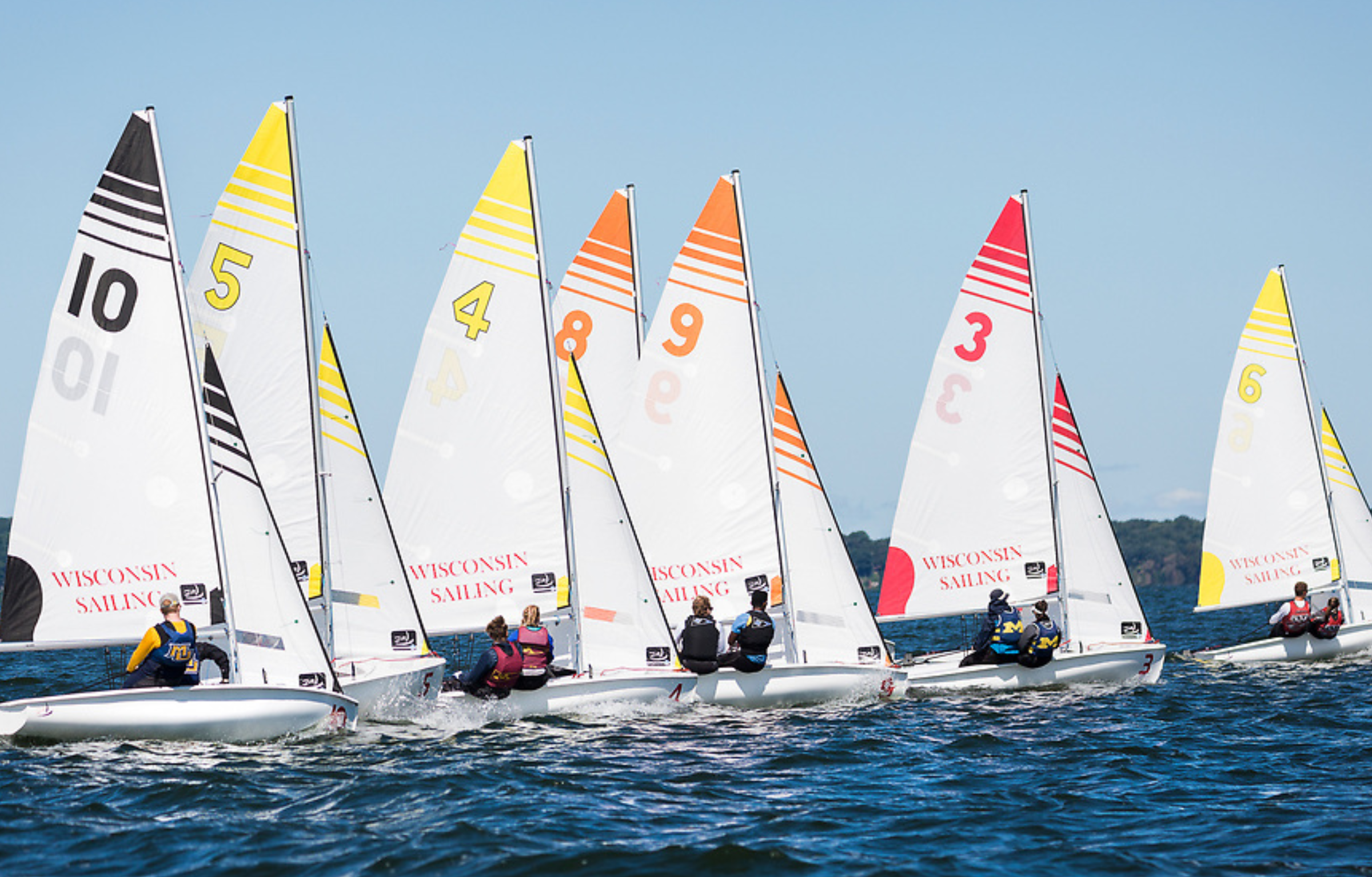 August Sturm named to Inter-Collegiate All-American Sailing Team