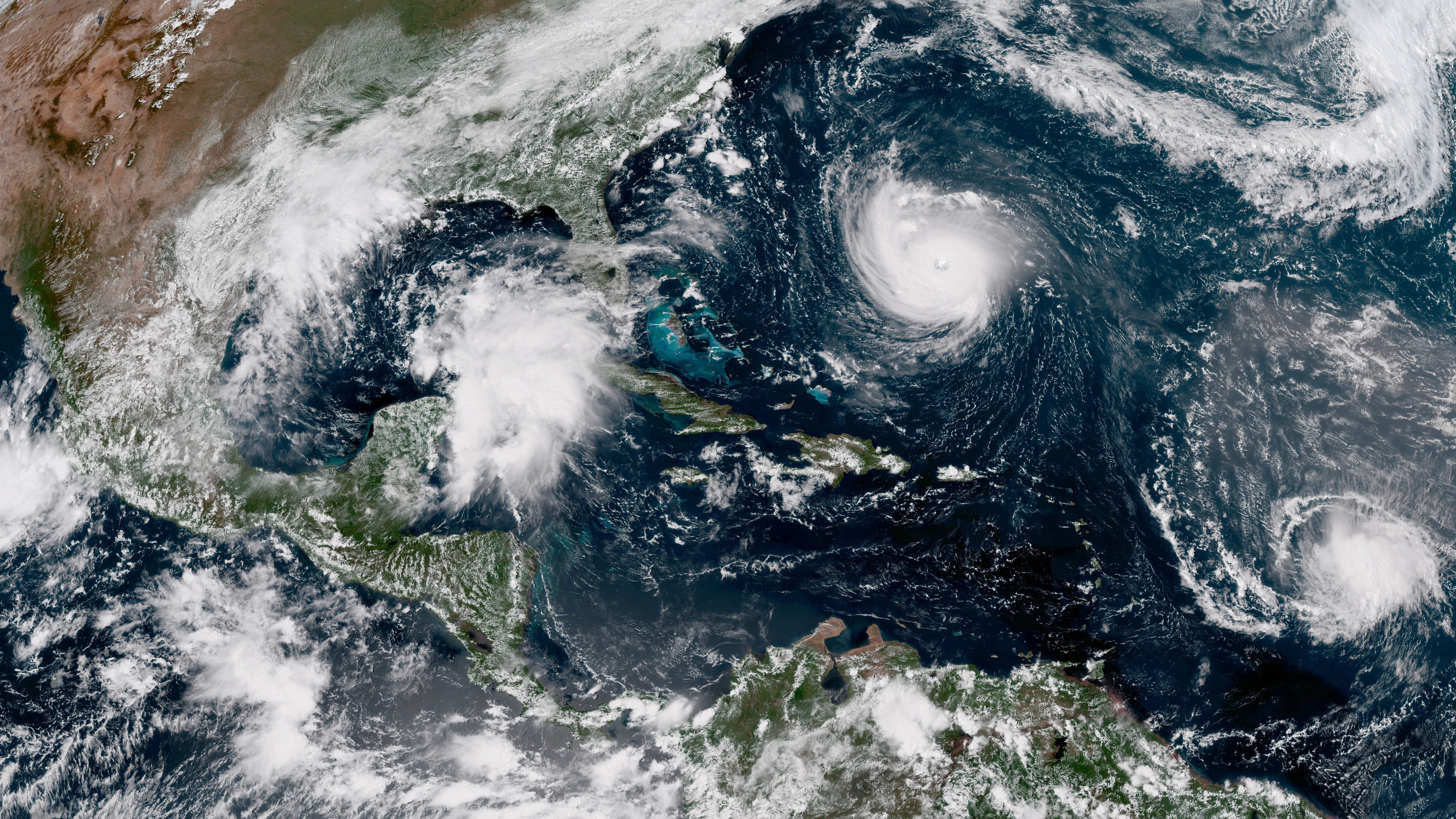 Hurricane Florence approaching the east coast. Photo courtesy of the NOAA