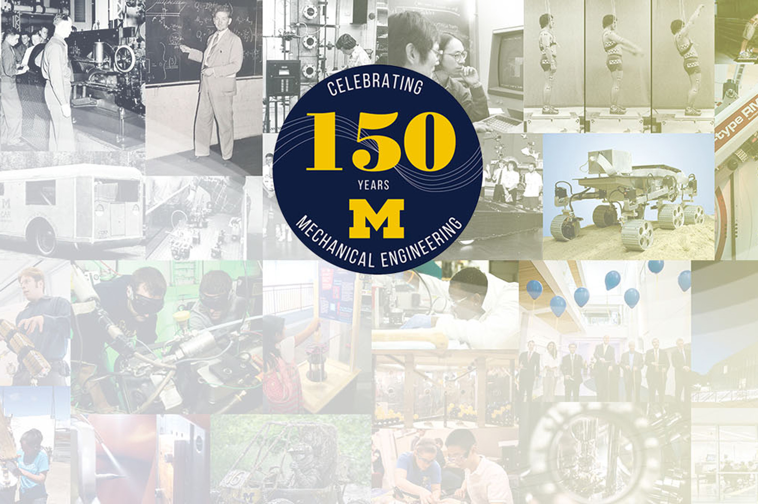 Mechanical Engineering celebrates its 150th year at U-M.