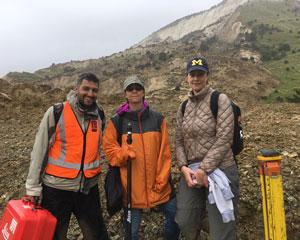 Professor Adda Athanasopoulos-Zekkos and team in New Zealand