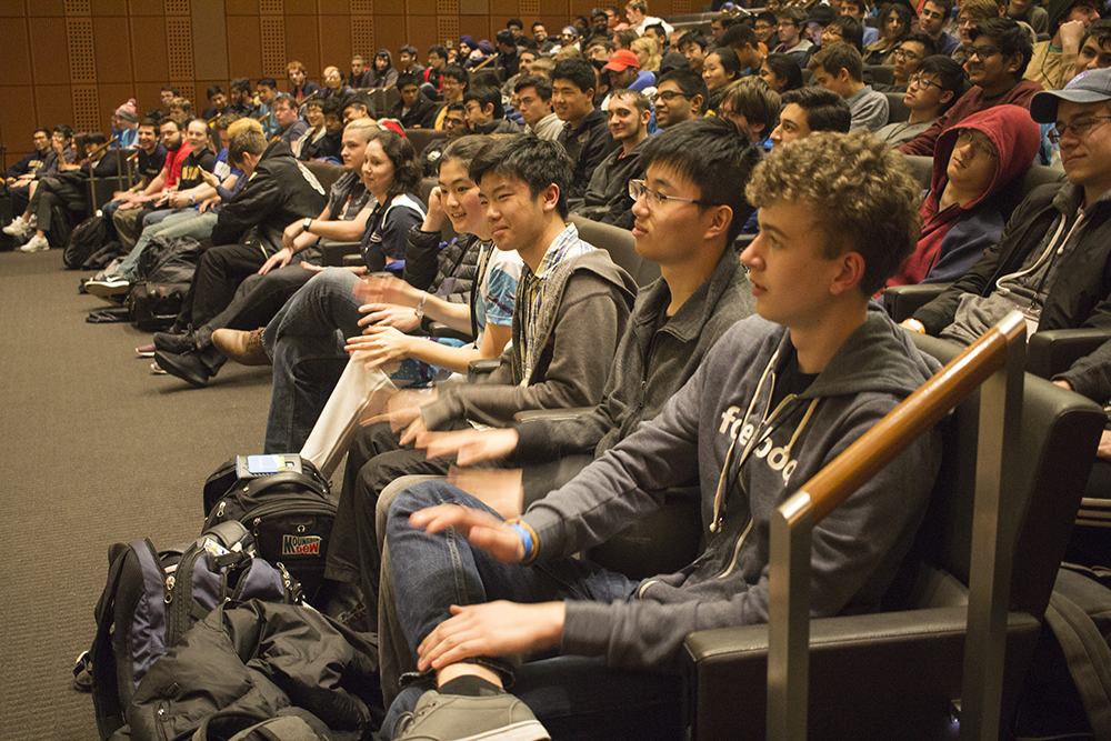 MHacks audience