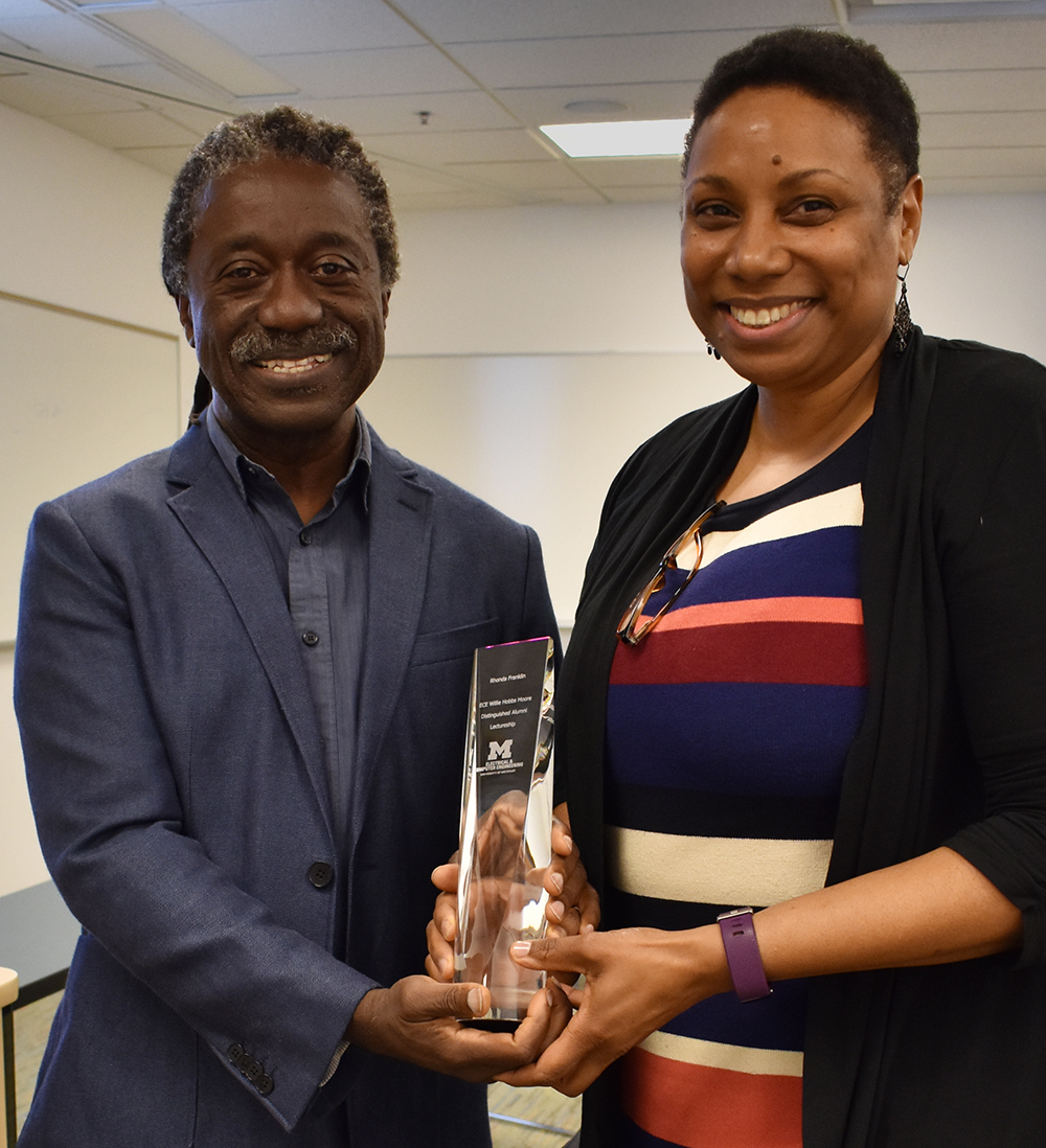 Prof. Franklin receives award