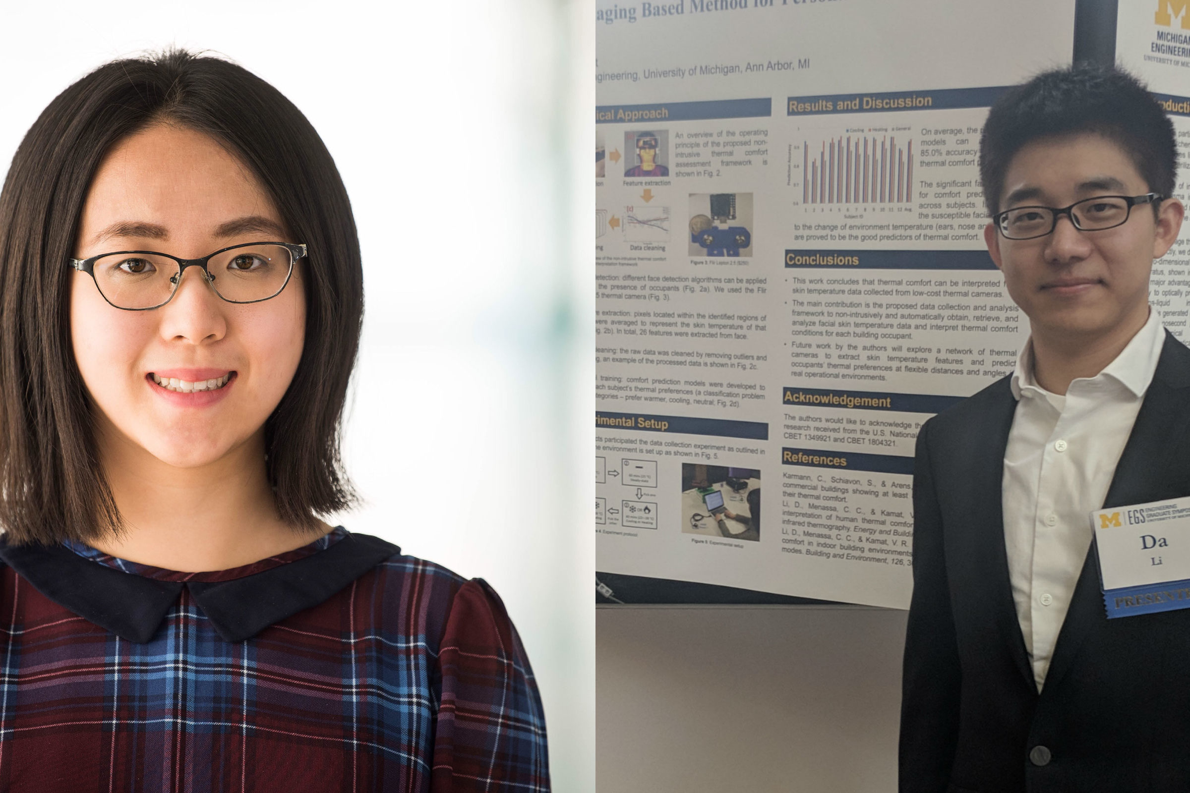 CEE students receive awards at the Engineering Graduate Symposium