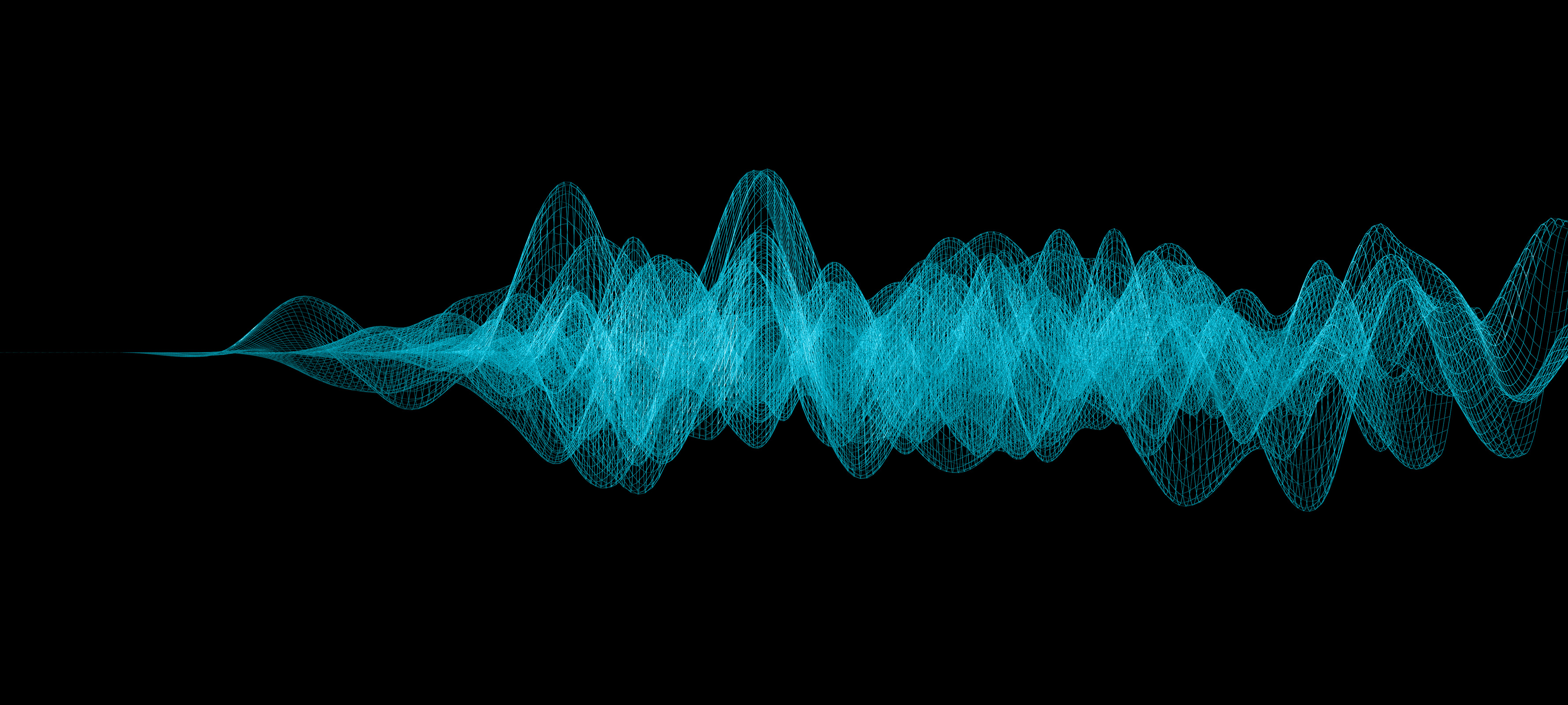 Sound wave visualization. Getty Images.