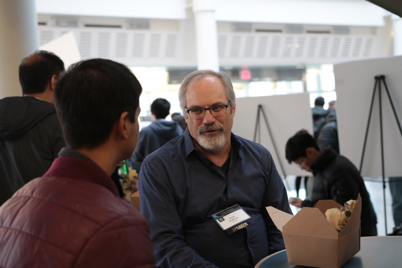 Scott Huffman at the symposium