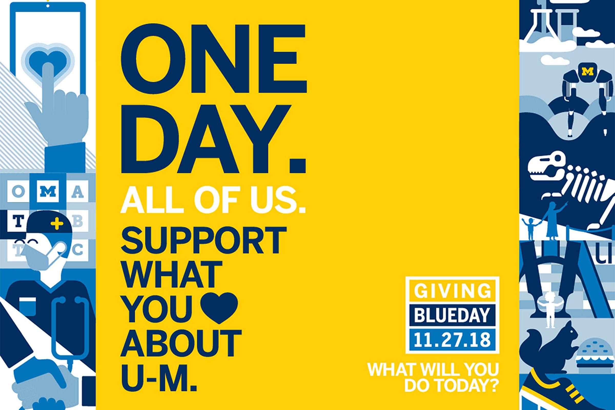 Make an impact on Giving Blueday