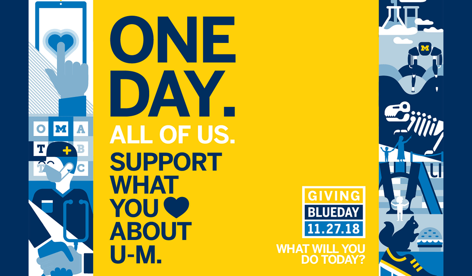 One Day. All of Us. Support What You Love About U-M
