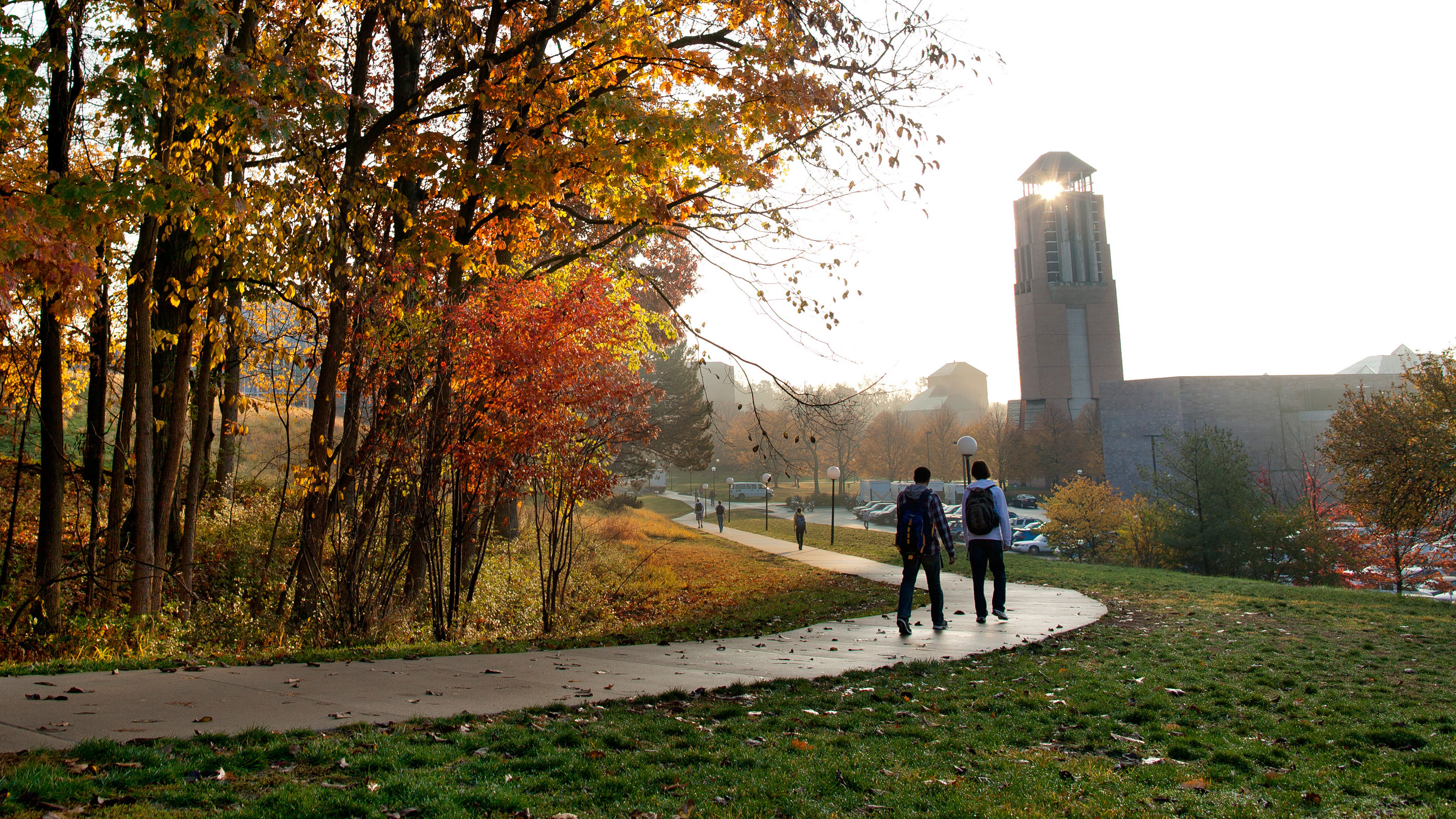 Fall on U-M North Campus. Photo: Joseph Xu.