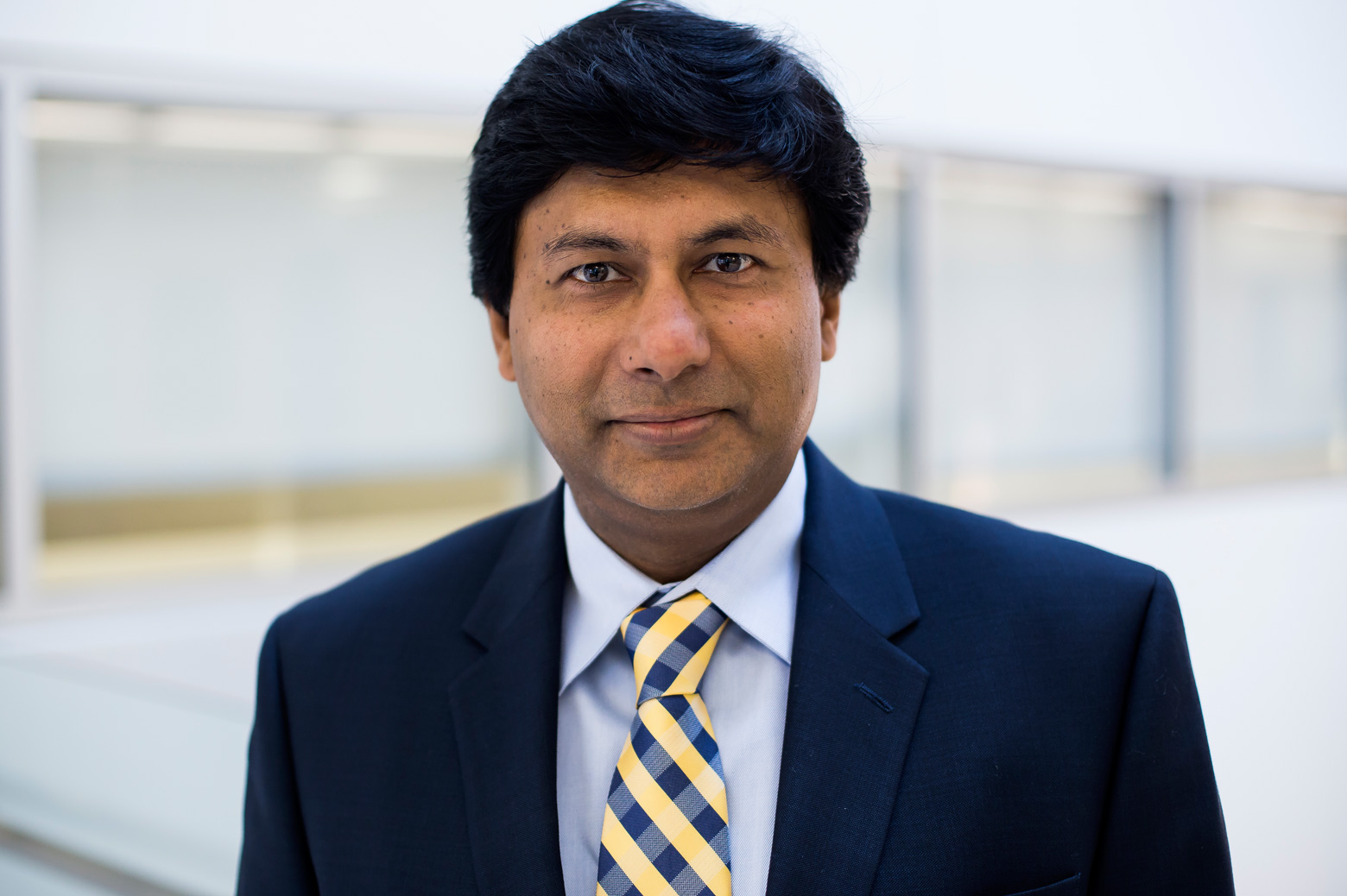 Materials science and engineering professor and department chair Amit Misra. Photo: Joseph Xu