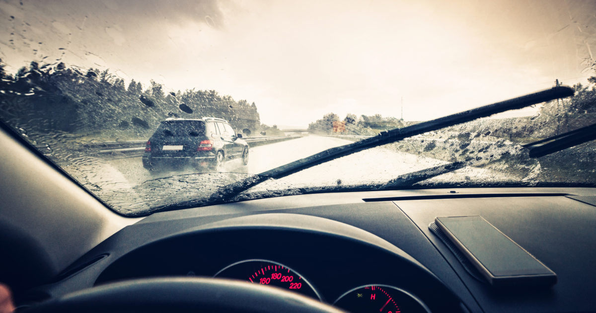 How connected vehicles' wipers could help prevent flooding