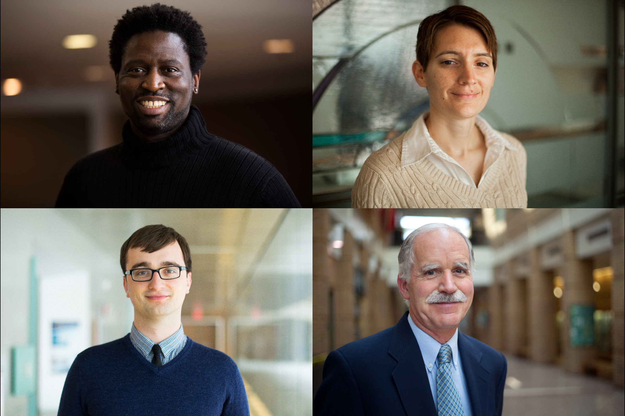 Four CEE faculty receive awards from the College of Engineering
