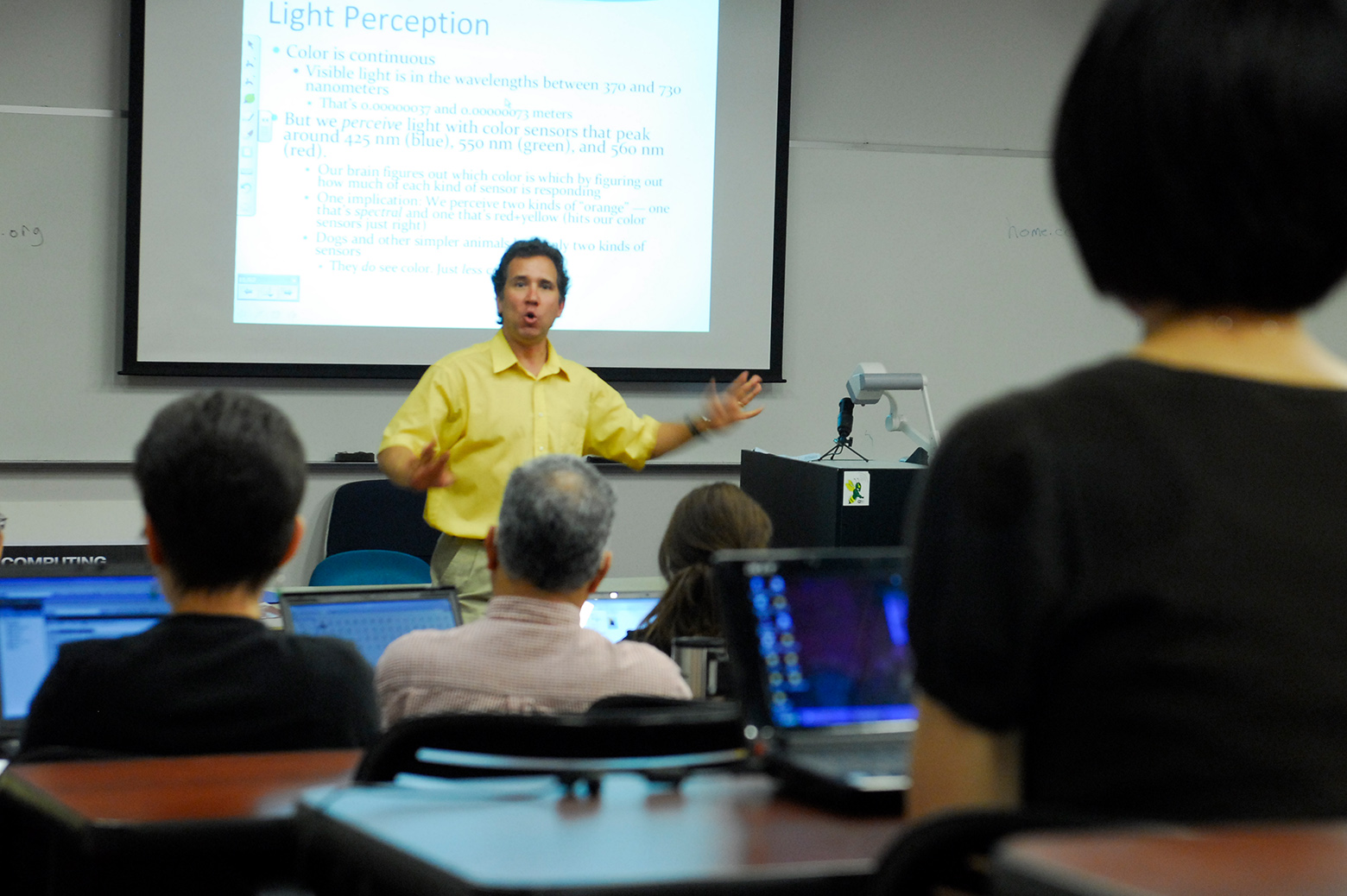 Mark Guzdial in class