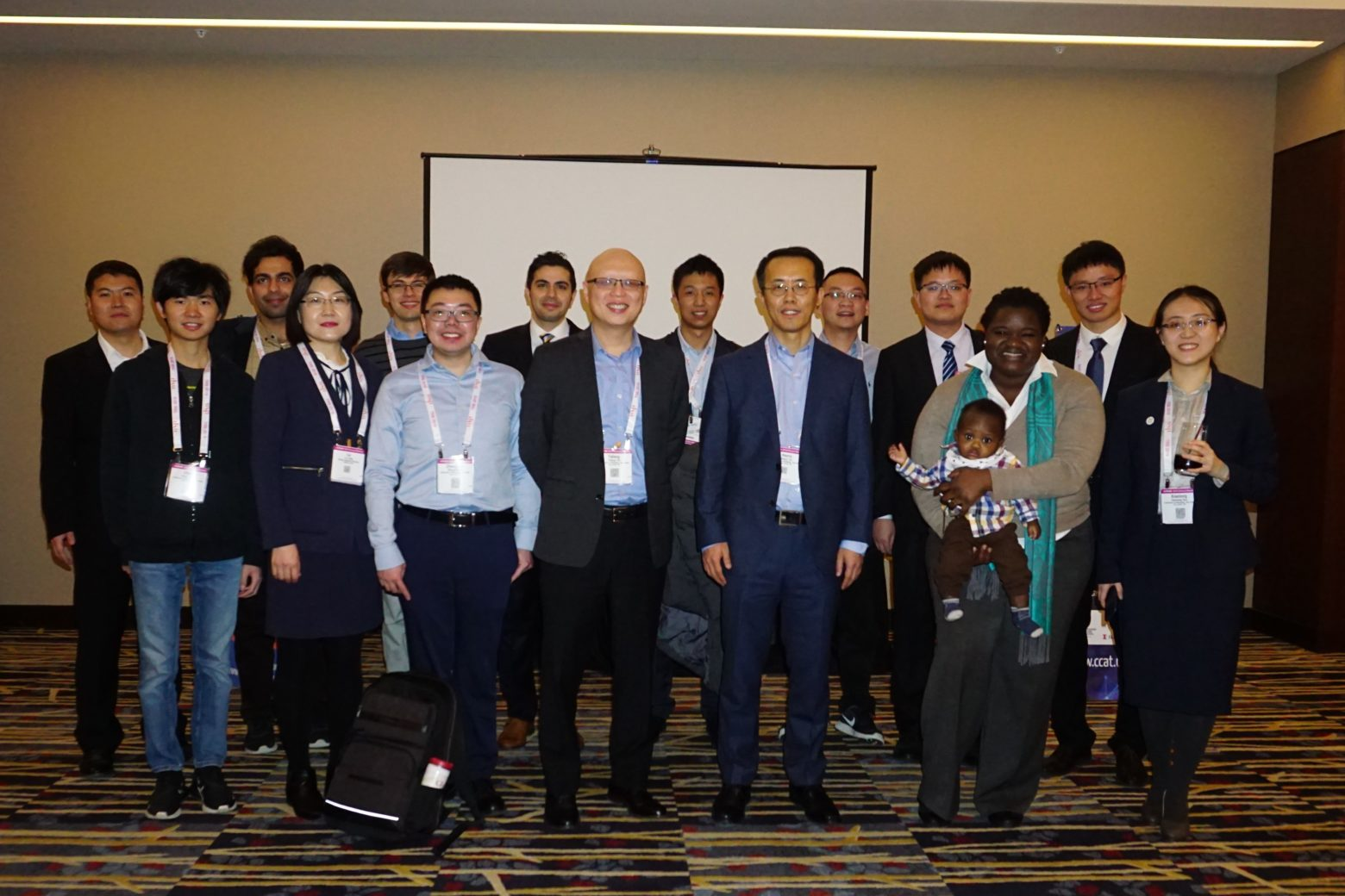 CEE students and faculty at TRB's annual meeting