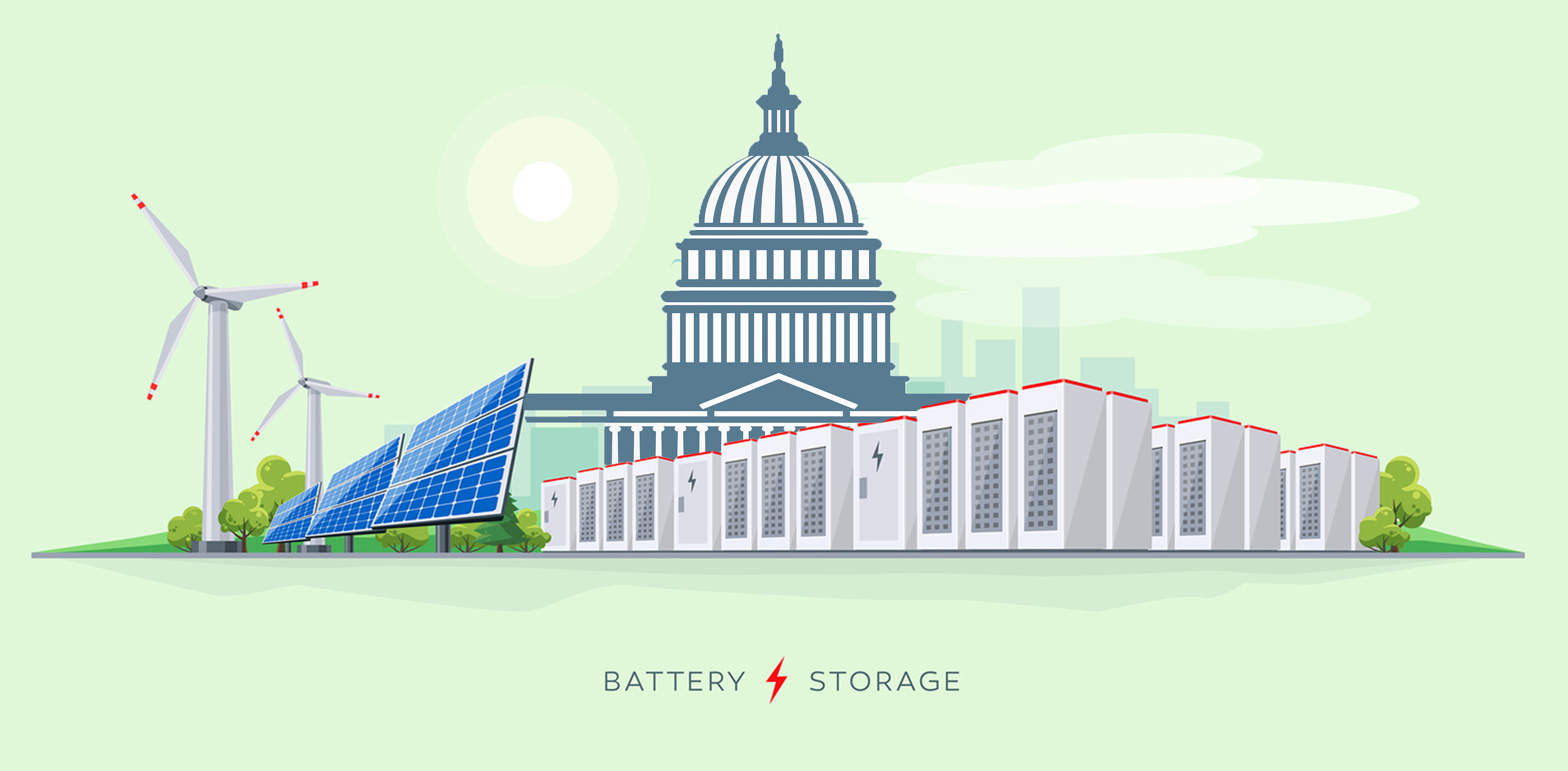 Battery storage and Capitol