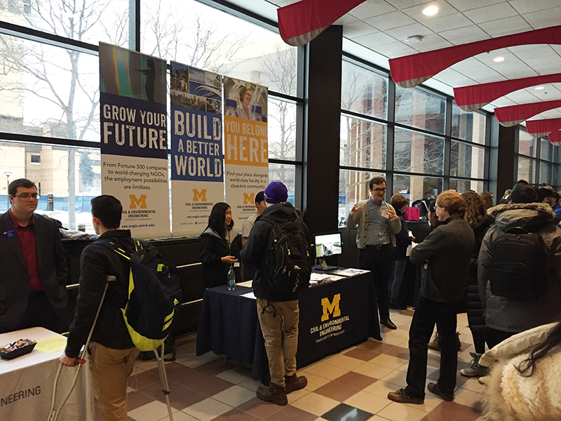 Engineering Advising Center's Majors Fair