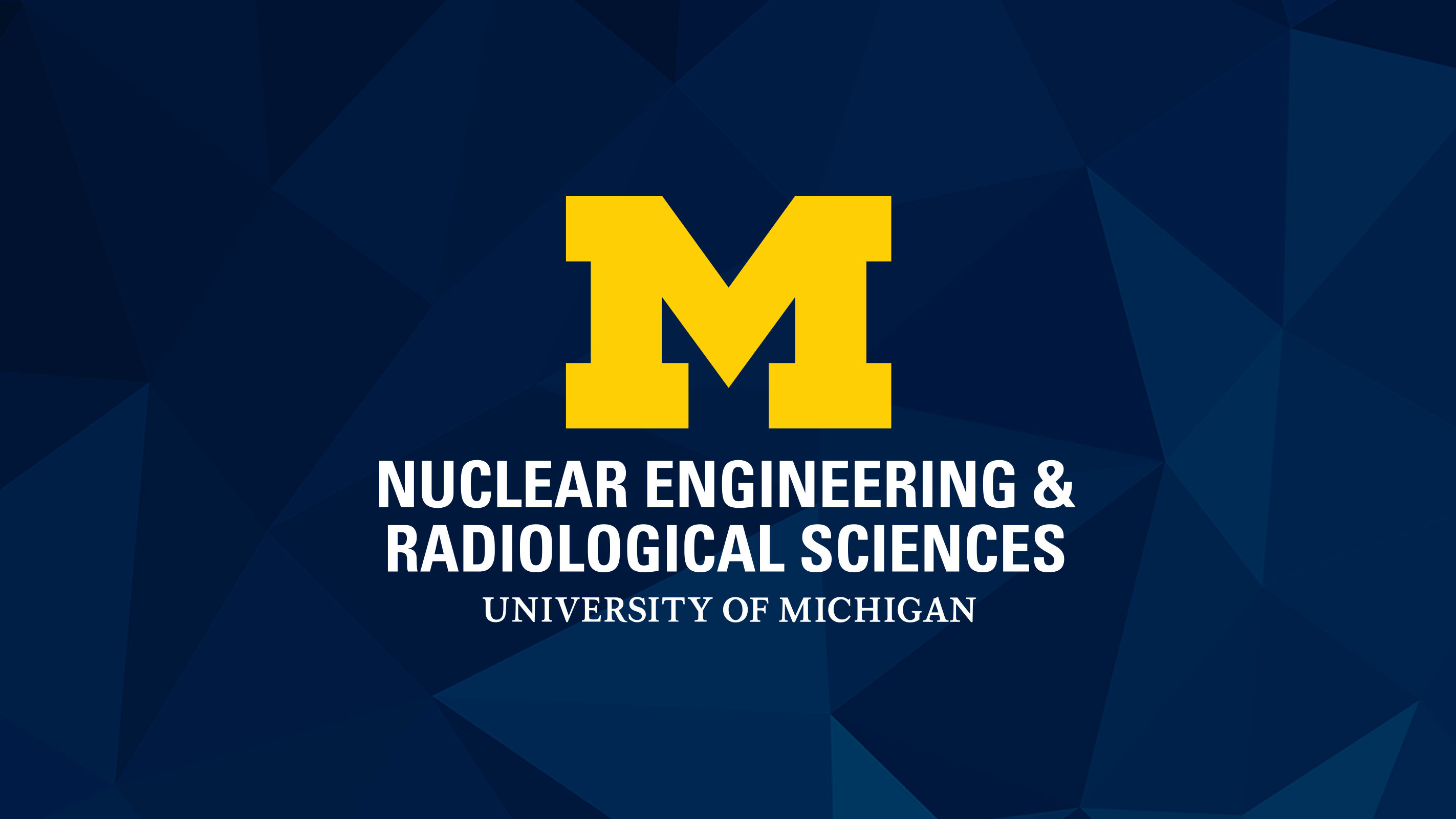 Nuclear Engineering & Radiological Sciences