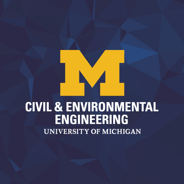 University of Michigan Civil and Environmental Engineering logo