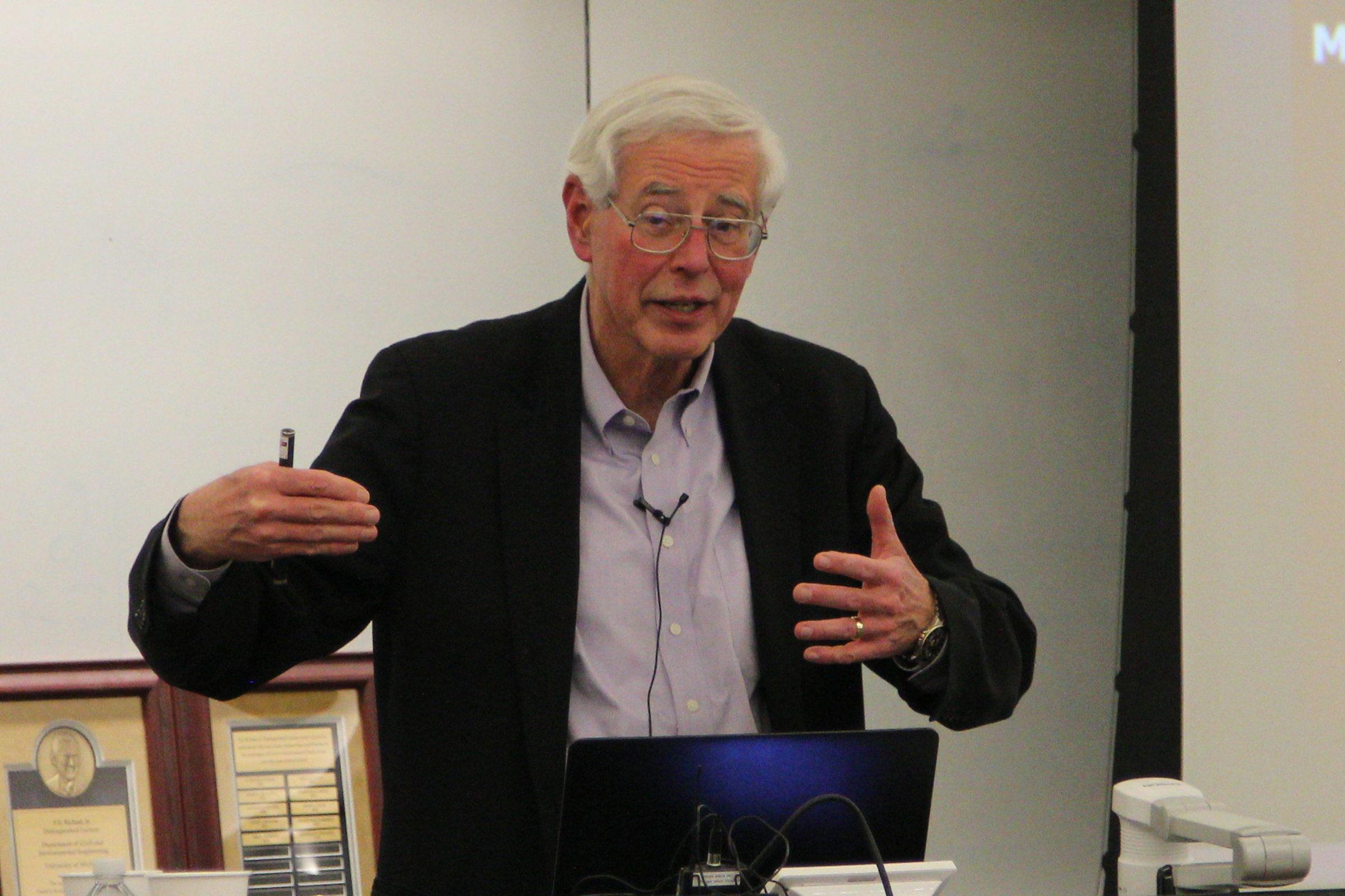 Tom O'Rourke speaking