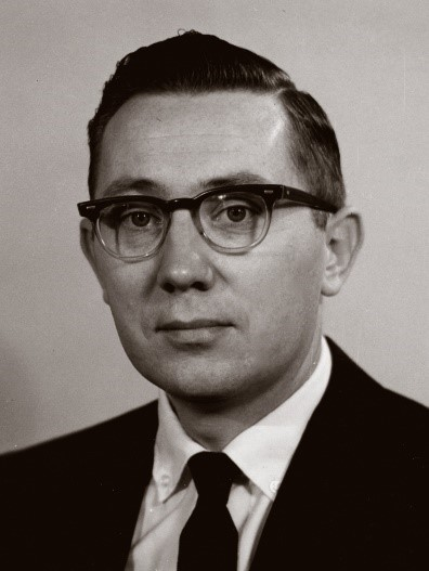Photo of Walt Hancock in 1962.
