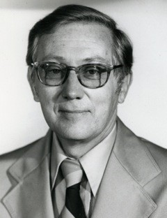 Photo of Walt Hancock in 1970