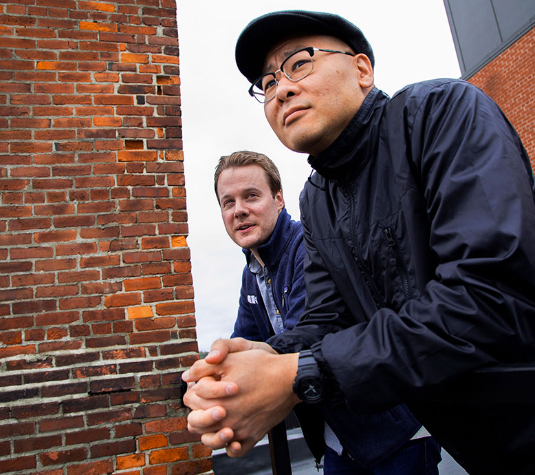 Duo Security co-founders Dug Song and Jon Oberheide