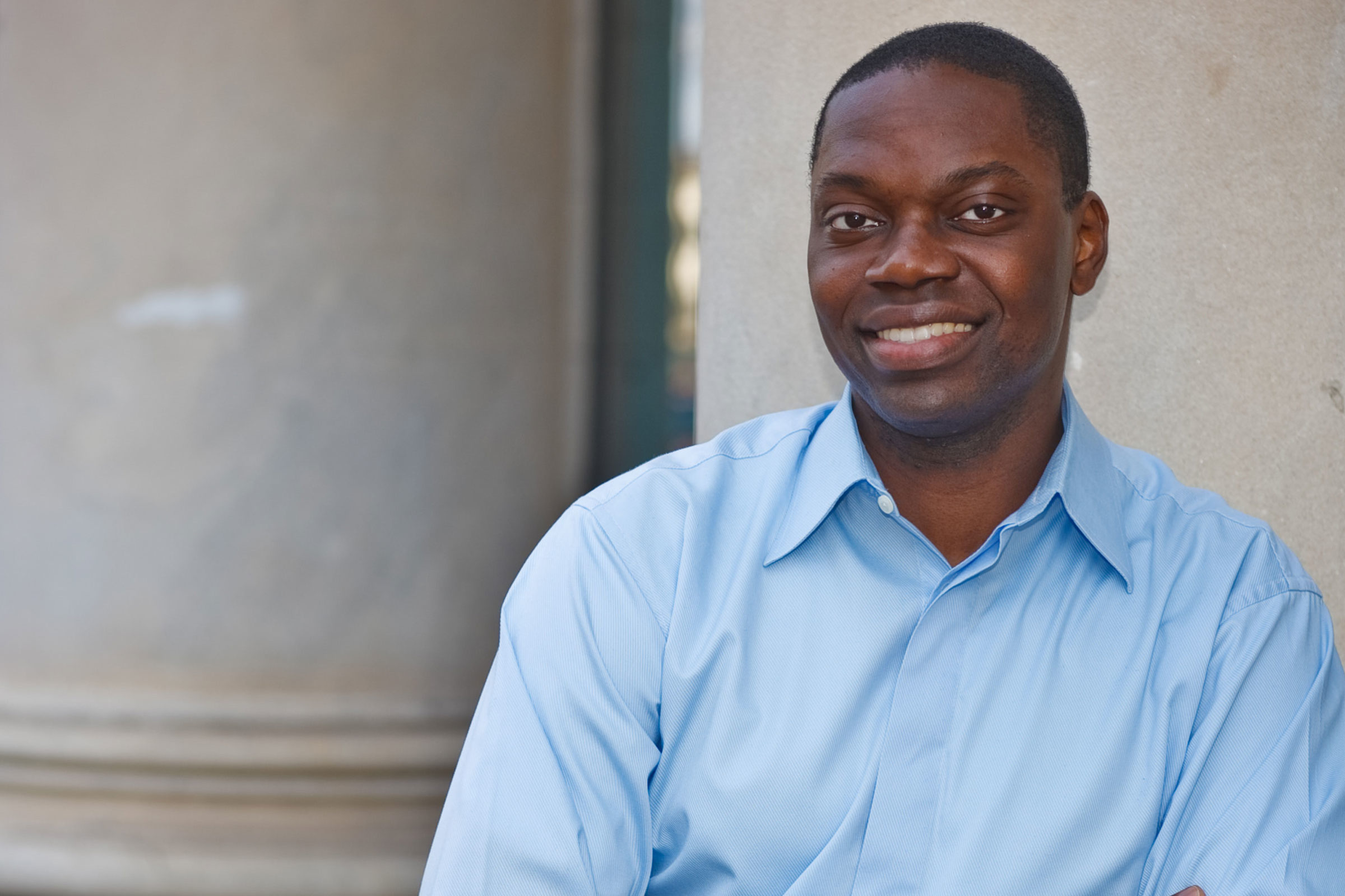 Garlin Gilchrist poses for a photo