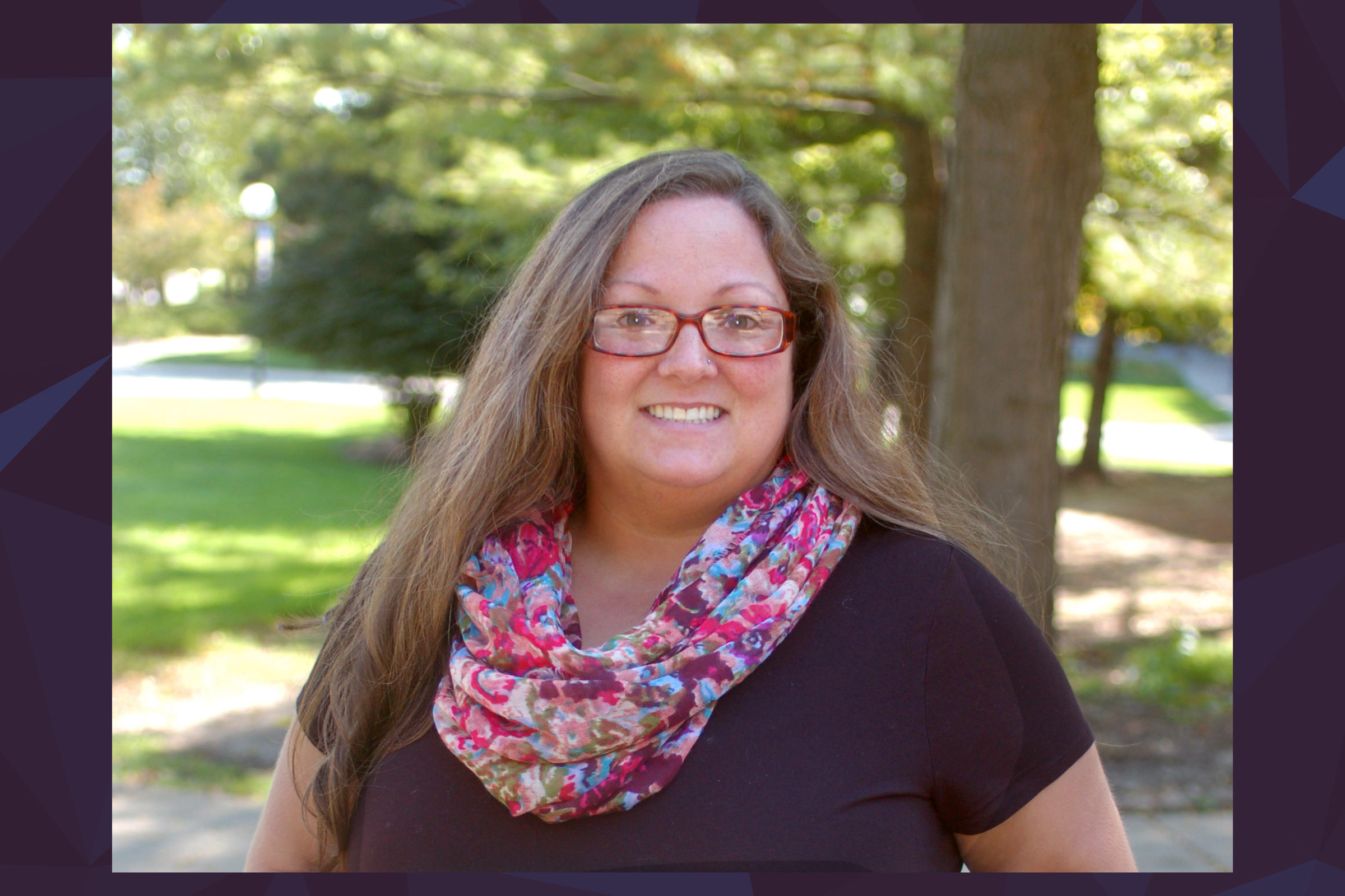 CEE staff member Stephanie Ford receives CoE Staff Excellence Award