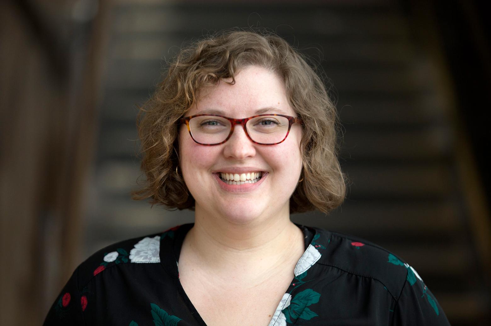 Ruthie Freeman, professional development program manager in Resource Planning and Management at Michigan Engineering. Photo: Somya Bhagwagar/Michigan Engineering